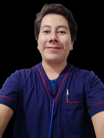 Terapeuta físico Arturo Gerónimo Palomo